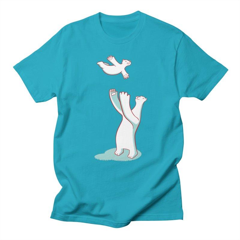 Bears Give The Best Hugs Men's T-shirt by Damien Mason's Artist Shop
