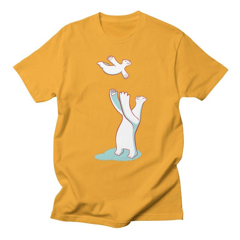 Bears Give The Best Hugs Men's Regular T-Shirt by Damien Mason's Artist Shop