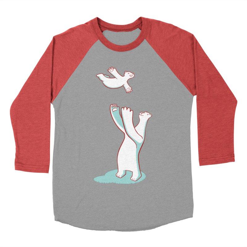 Bears Give The Best Hugs Men's Baseball Triblend T-Shirt by Damien Mason's Artist Shop