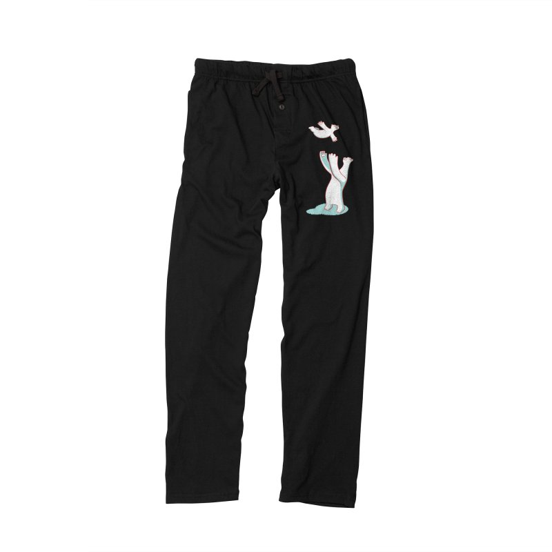 Bears Give The Best Hugs Men's Lounge Pants by Damien Mason's Artist Shop