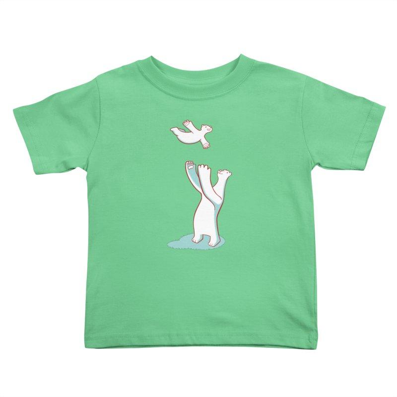 Bears Give The Best Hugs Kids Toddler T-Shirt by Damien Mason's Artist Shop