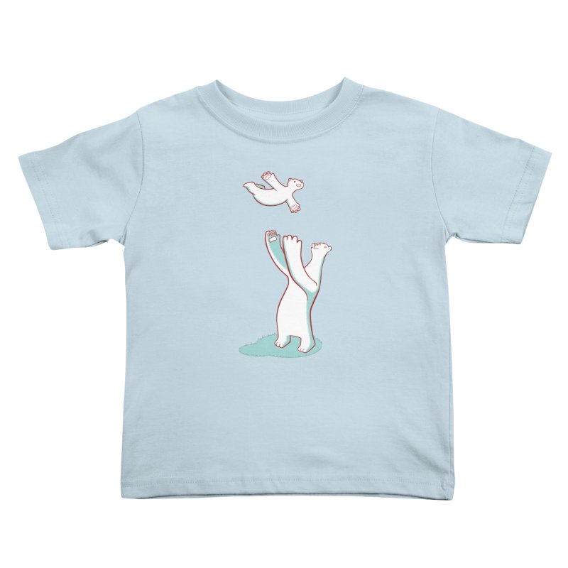 Bears Give The Best Hugs Kids Toddler T-Shirt by Damien Mason's Artist Shop