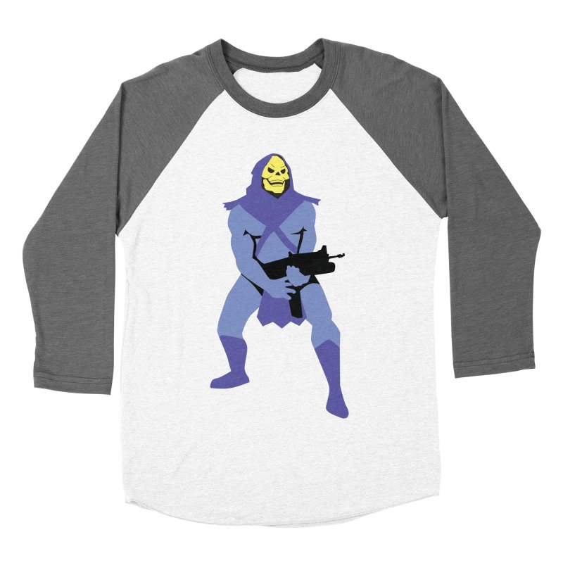 The Fall of Eternia Men's Baseball Triblend T-Shirt by Damien Mason's Artist Shop