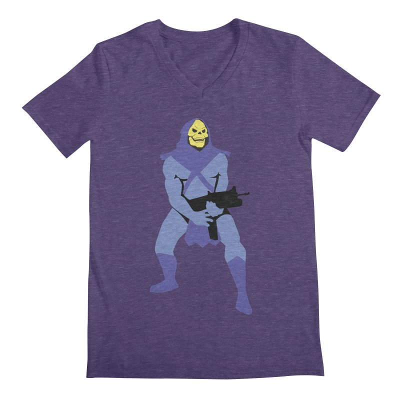 The Fall of Eternia Men's Regular V-Neck by Damien Mason's Artist Shop