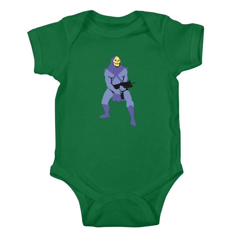 The Fall of Eternia Kids Baby Bodysuit by Damien Mason's Artist Shop