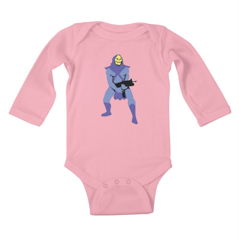 The Fall of Eternia Kids Baby Longsleeve Bodysuit by Damien Mason's Artist Shop