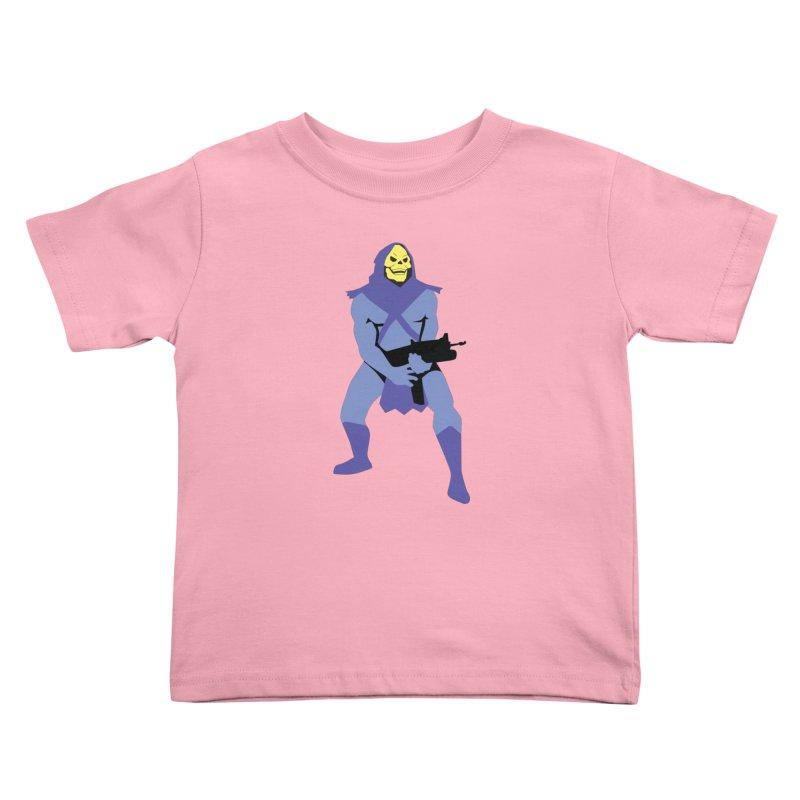 The Fall of Eternia Kids Toddler T-Shirt by Damien Mason's Artist Shop