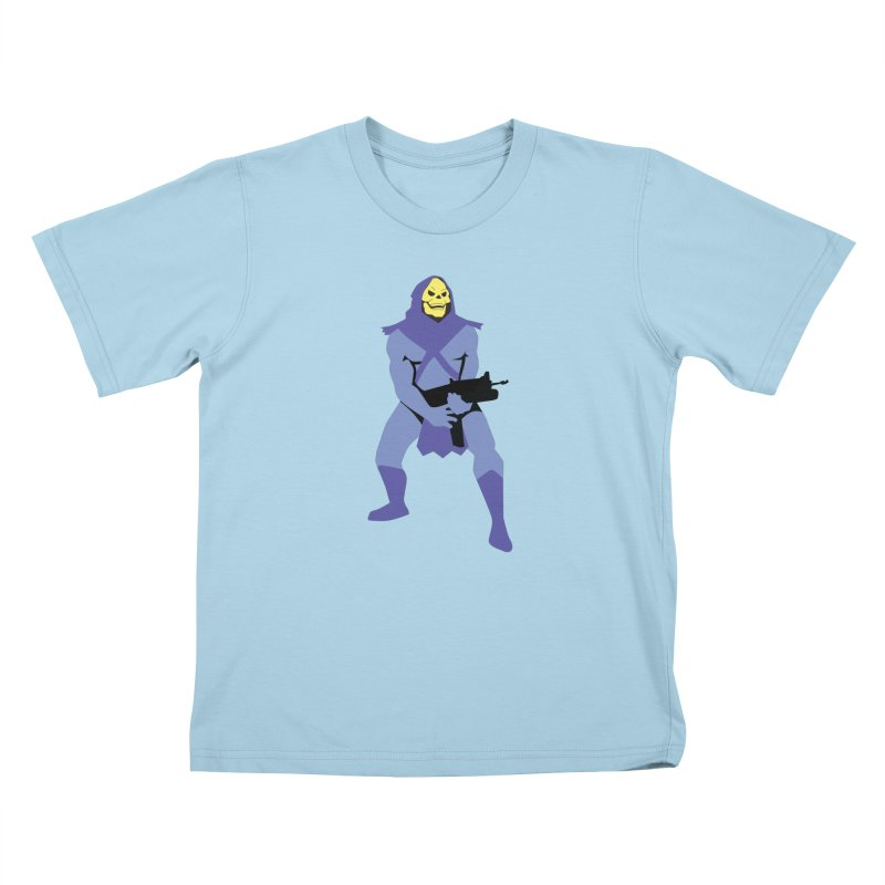 The Fall of Eternia Kids T-Shirt by Damien Mason's Artist Shop