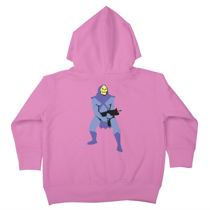 The Fall of Eternia Kids Toddler Zip-Up Hoody by Damien Mason's Artist Shop
