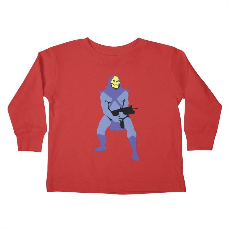 The Fall of Eternia Kids Toddler Longsleeve T-Shirt by Damien Mason's Artist Shop