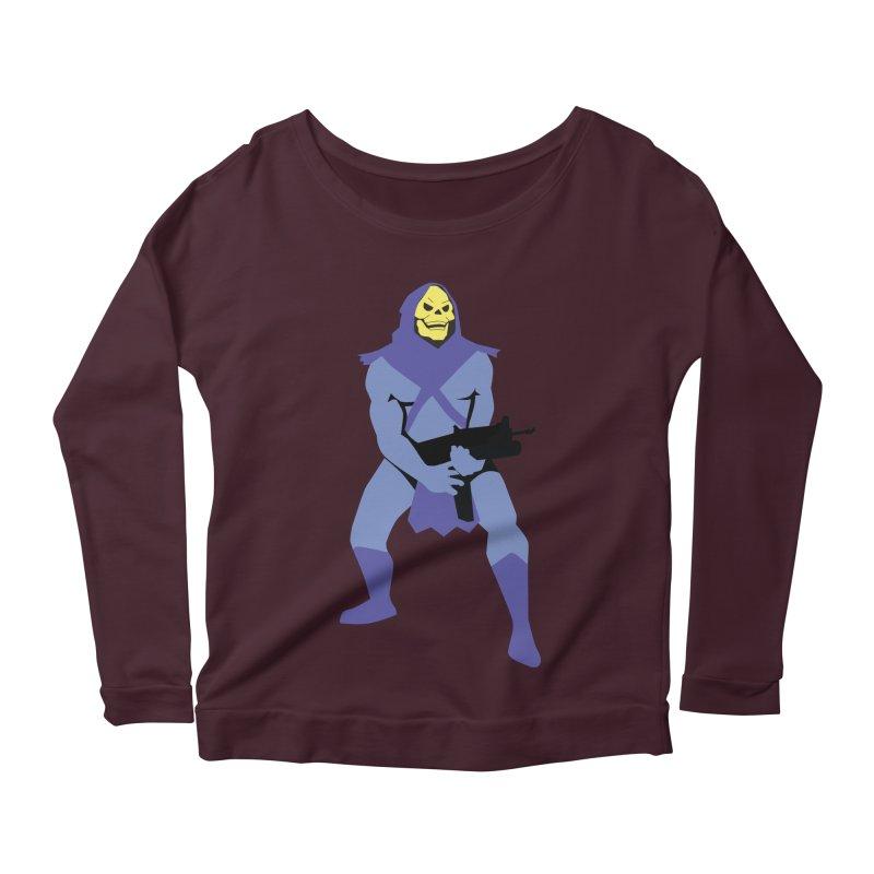 The Fall of Eternia Women's Scoop Neck Longsleeve T-Shirt by Damien Mason's Artist Shop