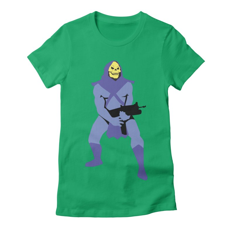 The Fall of Eternia Women's Fitted T-Shirt by Damien Mason's Artist Shop