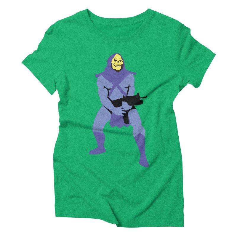 The Fall of Eternia Women's Triblend T-Shirt by Damien Mason's Artist Shop