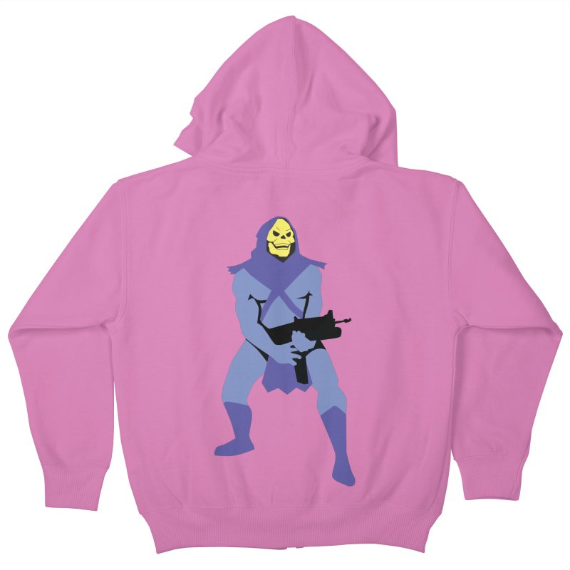 The Fall of Eternia Kids Zip-Up Hoody by Damien Mason's Artist Shop