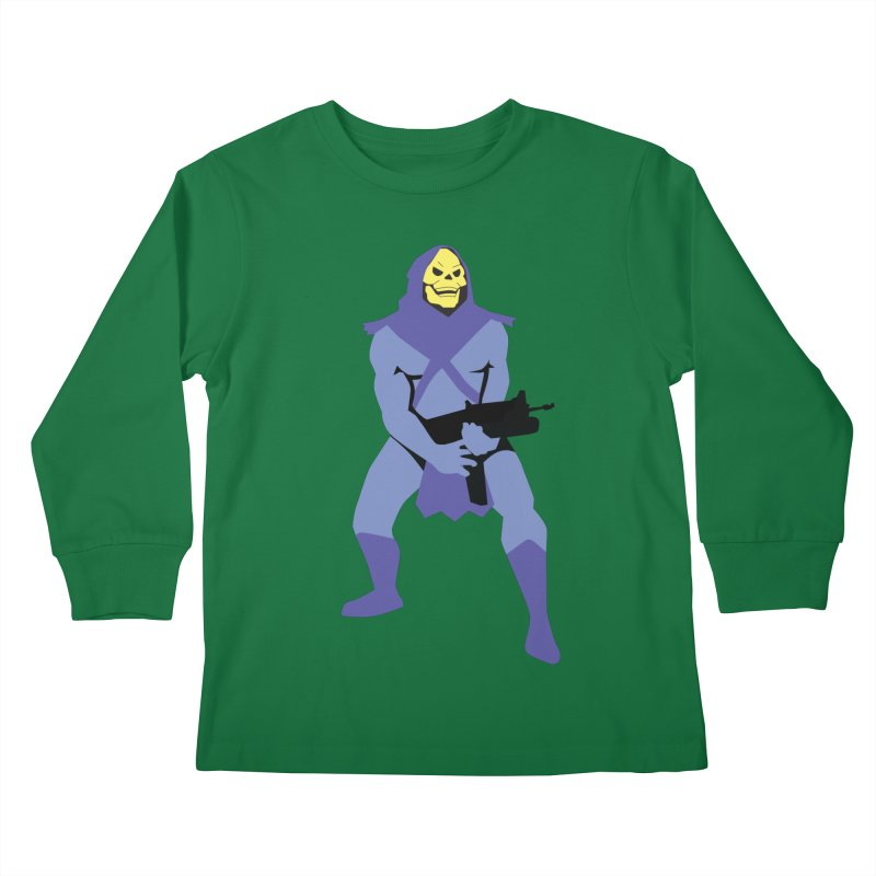 The Fall of Eternia Kids Longsleeve T-Shirt by Damien Mason's Artist Shop