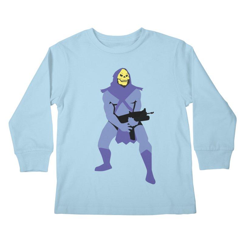 The Fall of Eternia Kids Longsleeve T-Shirt by Damien Mason's Artist Shop