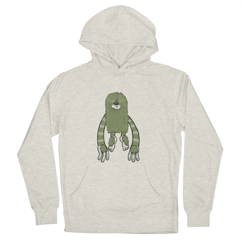 Clive Men's French Terry Pullover Hoody by Damien Mason's Artist Shop