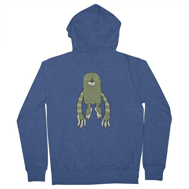 Clive Women's French Terry Zip-Up Hoody by Damien Mason's Artist Shop