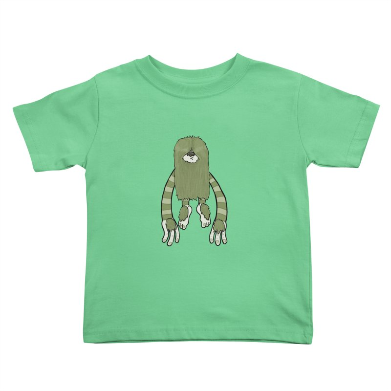 Clive Kids Toddler T-Shirt by Damien Mason's Artist Shop