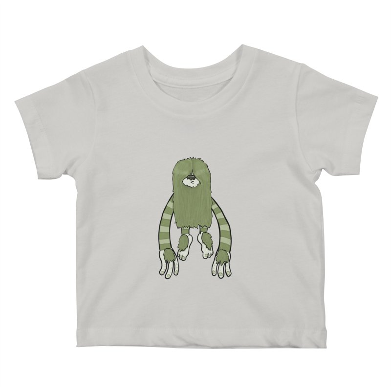 Clive Kids Baby T-Shirt by Damien Mason's Artist Shop