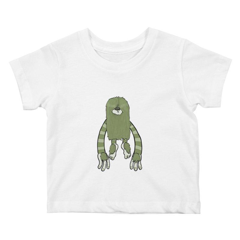 Clive Kids Baby T-Shirt by Damien Mason's Artist Shop
