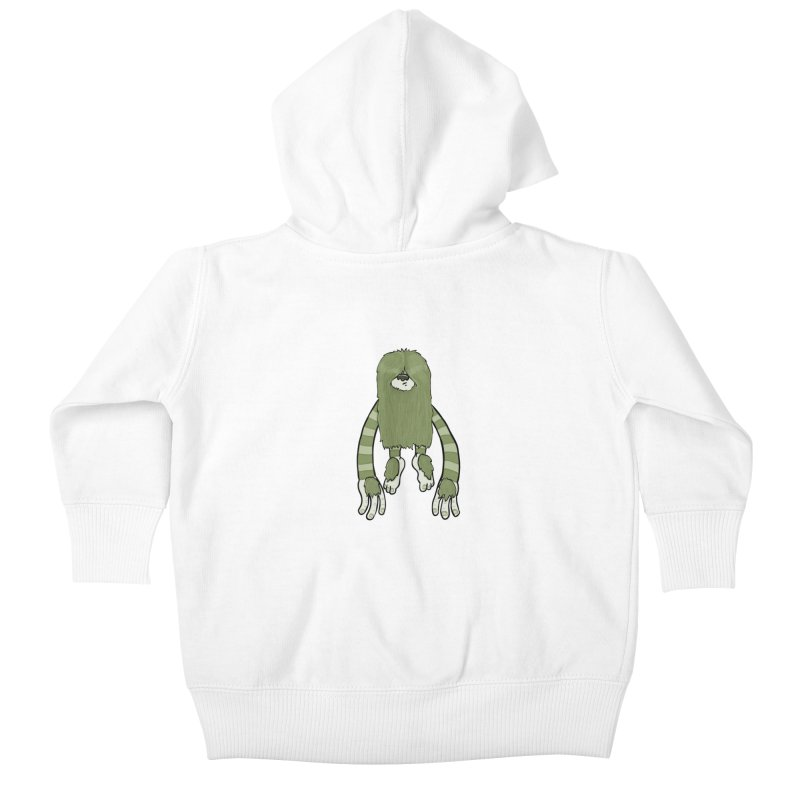 Clive Kids Baby Zip-Up Hoody by Damien Mason's Artist Shop