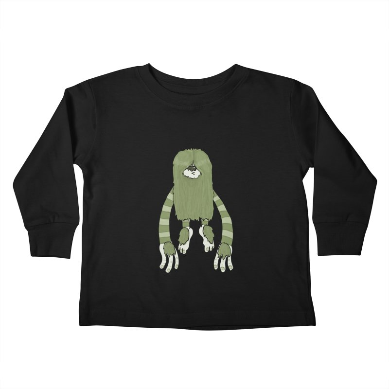 Clive Kids Toddler Longsleeve T-Shirt by Damien Mason's Artist Shop