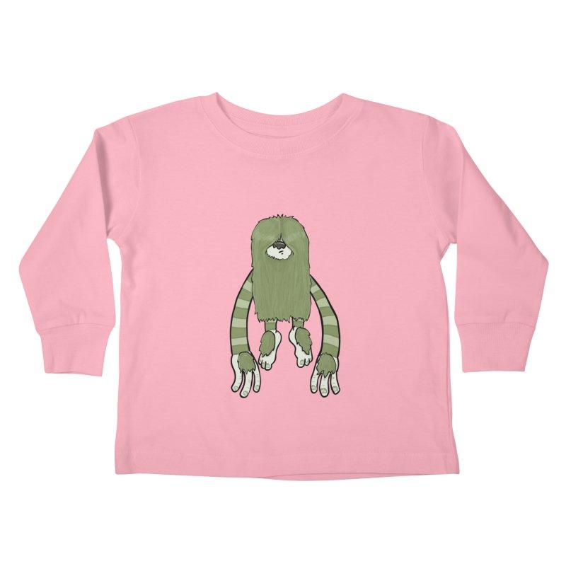 Clive Kids Toddler Longsleeve T-Shirt by Damien Mason's Artist Shop