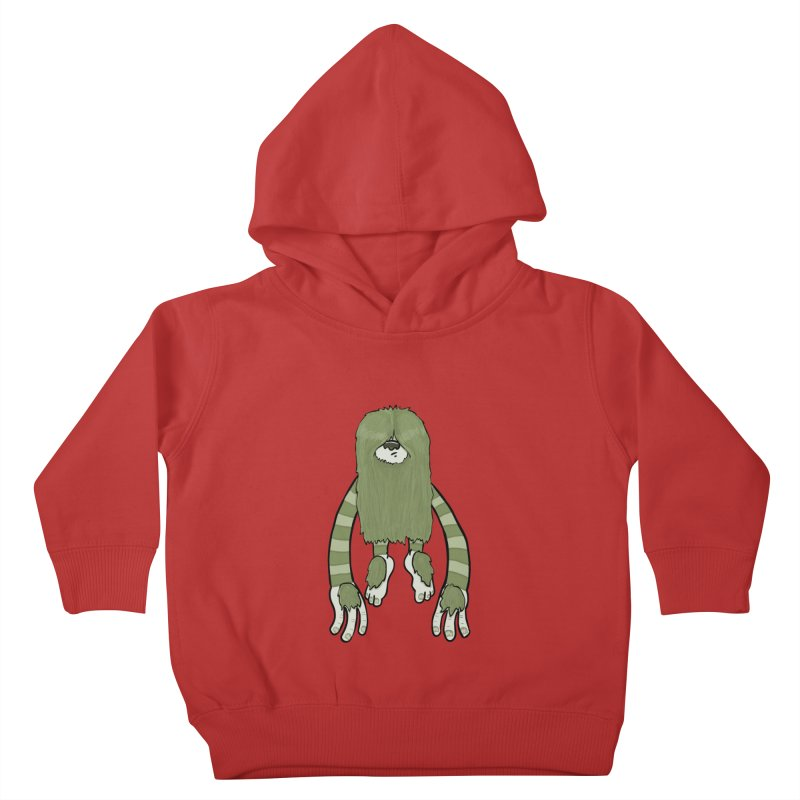 Clive Kids Toddler Pullover Hoody by Damien Mason's Artist Shop