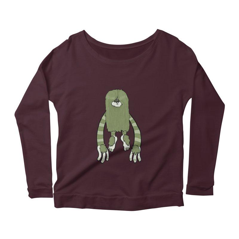 Clive Women's Scoop Neck Longsleeve T-Shirt by Damien Mason's Artist Shop