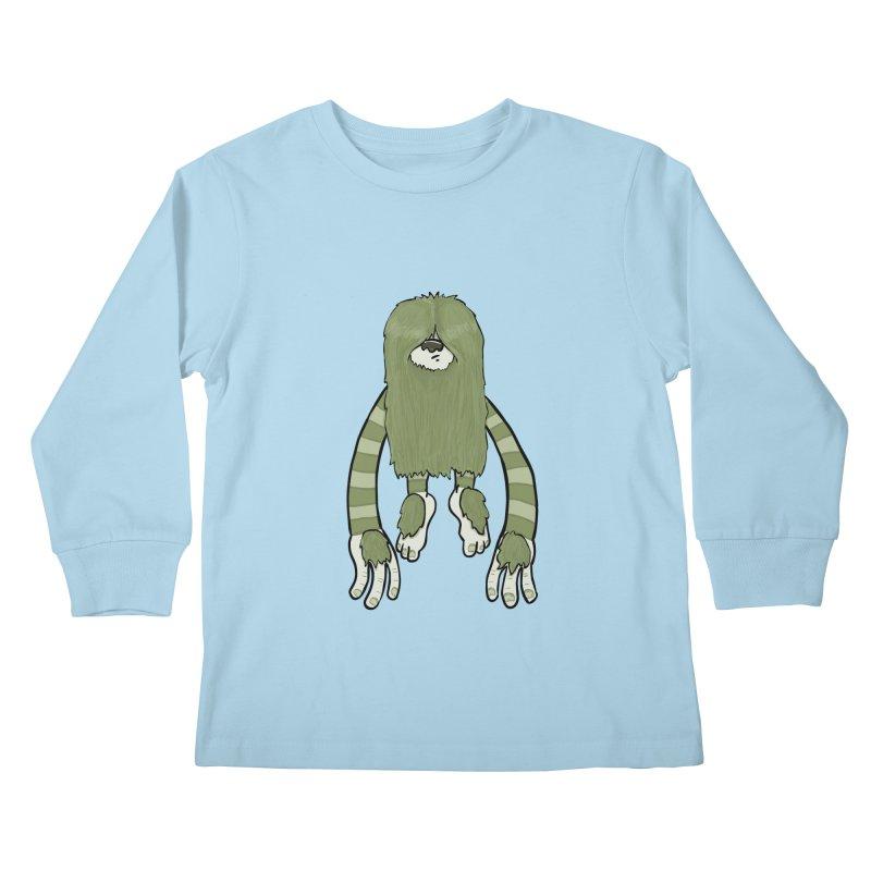 Clive Kids Longsleeve T-Shirt by Damien Mason's Artist Shop