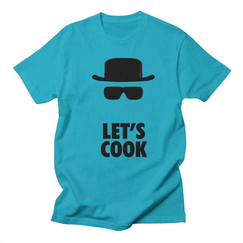Heisenberg Men's Regular T-Shirt by Damien Mason's Artist Shop