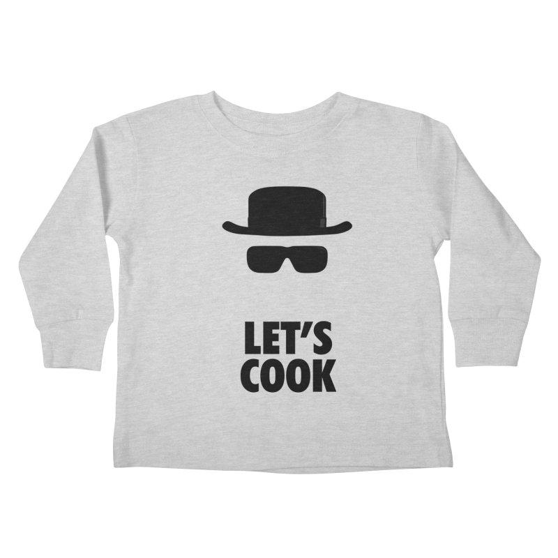 Heisenberg Kids Toddler Longsleeve T-Shirt by Damien Mason's Artist Shop