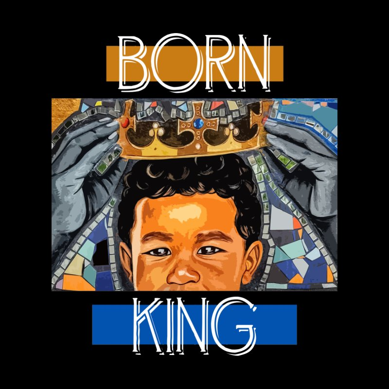 BORN KING Men's T-Shirt by Damon Lamar Reed Images