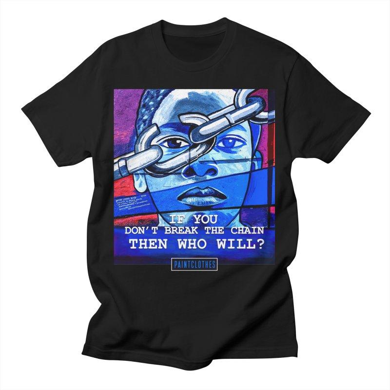 Break The Chain Men's T-Shirt by Damon Lamar Reed Images