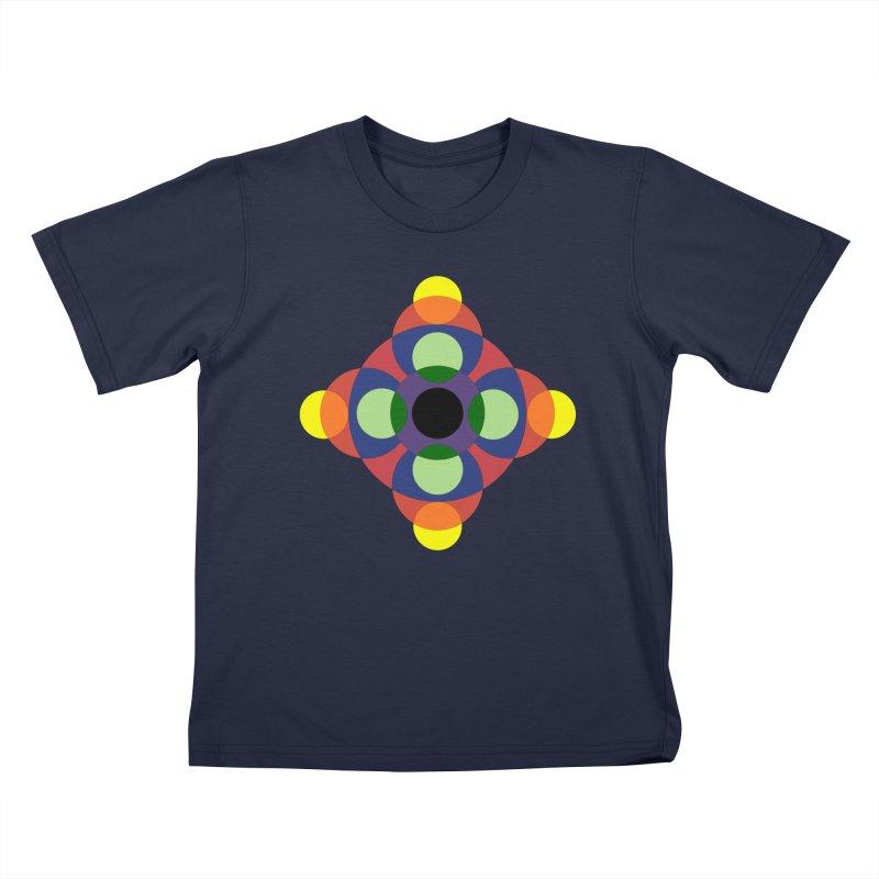 Spin Cycle Kids T-Shirt by Damon Davis's Shop