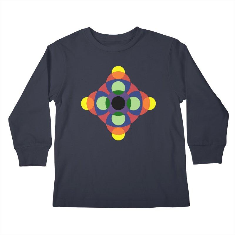 Spin Cycle Kids Longsleeve T-Shirt by Damon Davis's Shop