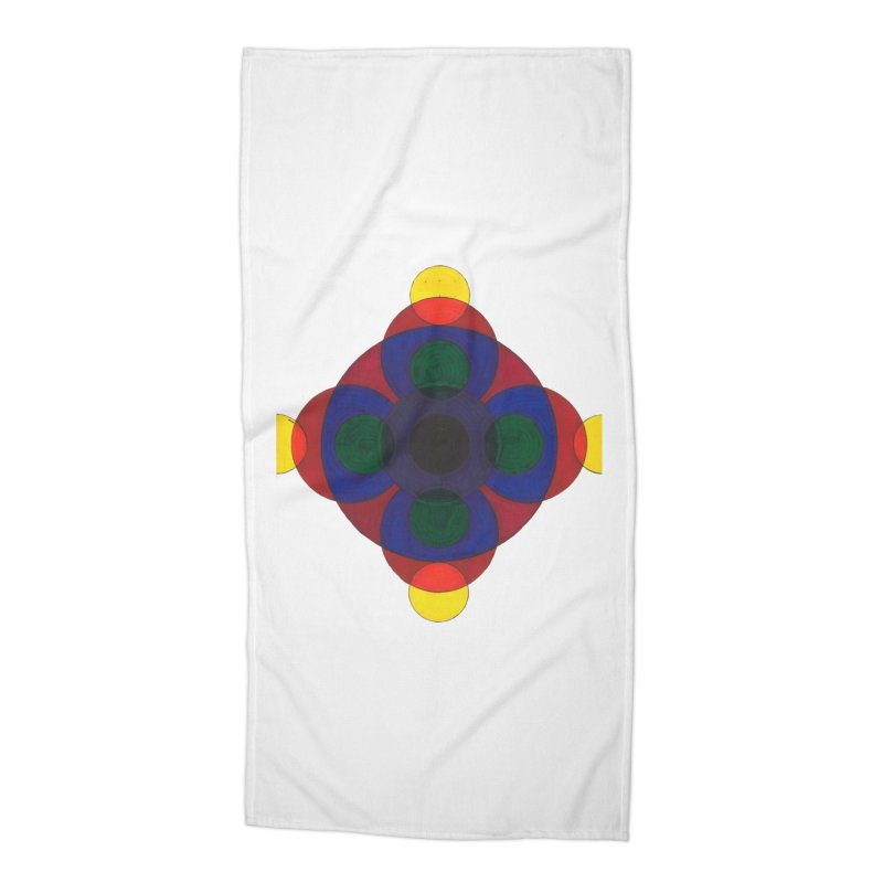 Spin Cycle Accessories Beach Towel by Damon Davis's Shop