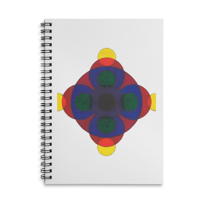 Spin Cycle Accessories Notebook by Damon Davis's Shop