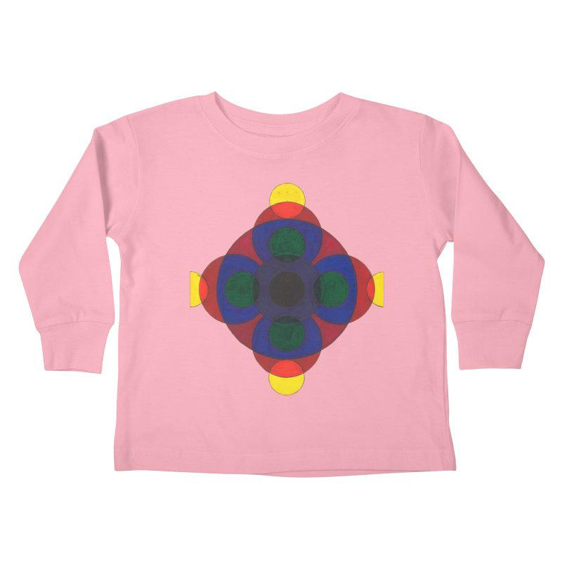 Spin Cycle Kids Toddler Longsleeve T-Shirt by Damon Davis's Shop