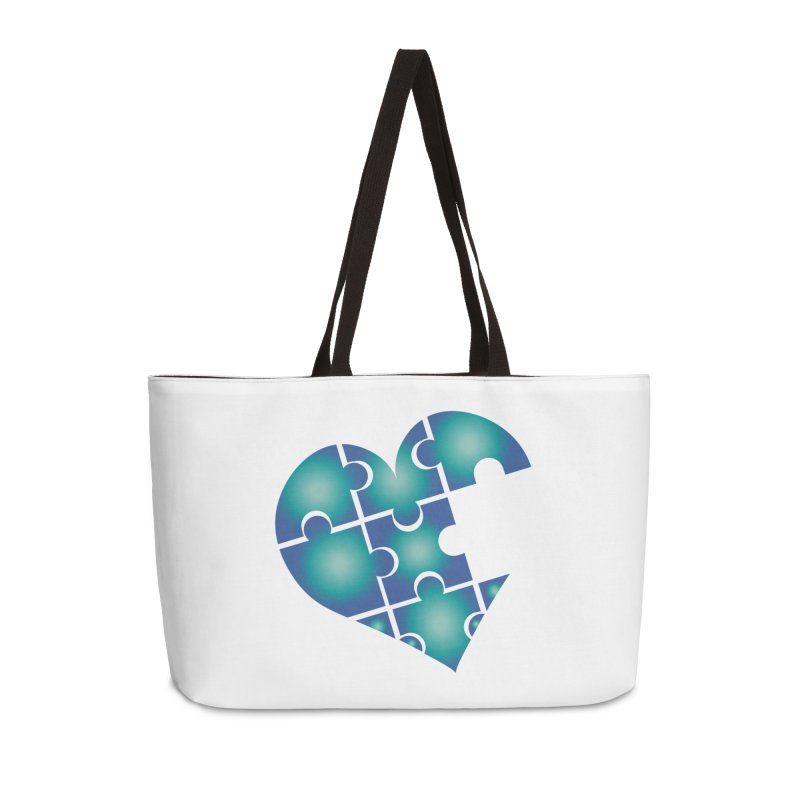 Who Am I Really? podcast Heart Accessories Bag by Damon Davis's Shop