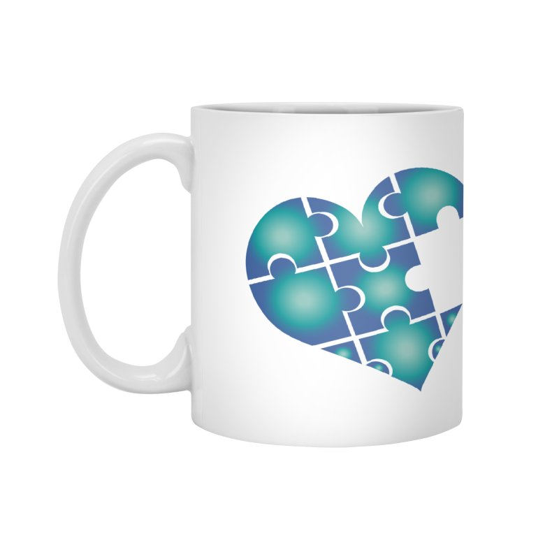 Who Am I Really? podcast Heart Accessories Mug by Damon Davis's Shop