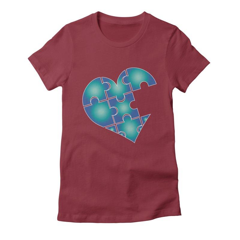 Who Am I Really? podcast Heart Women's T-Shirt by Damon Davis's Shop