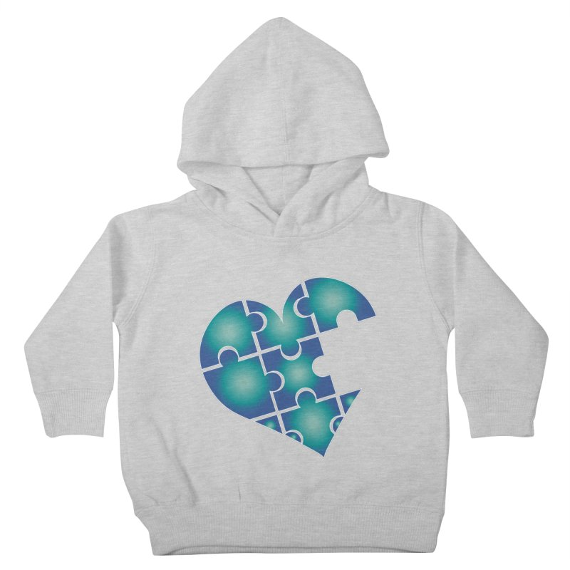 Who Am I Really? podcast Heart Kids Toddler Pullover Hoody by Damon Davis's Shop