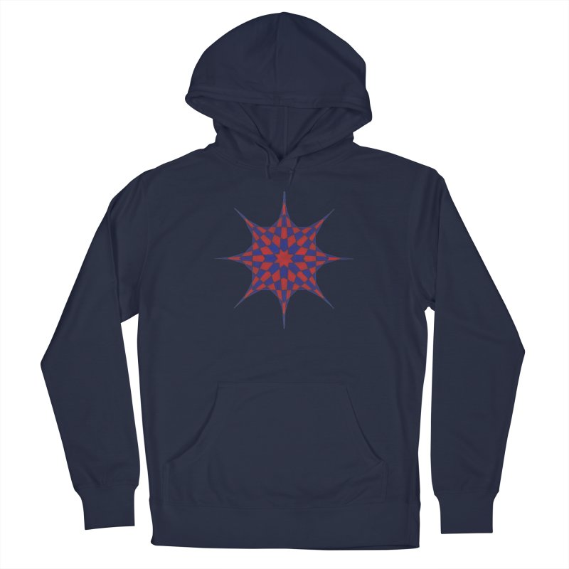 Red Dwarf Star Men's Pullover Hoody by Damon Davis's Shop