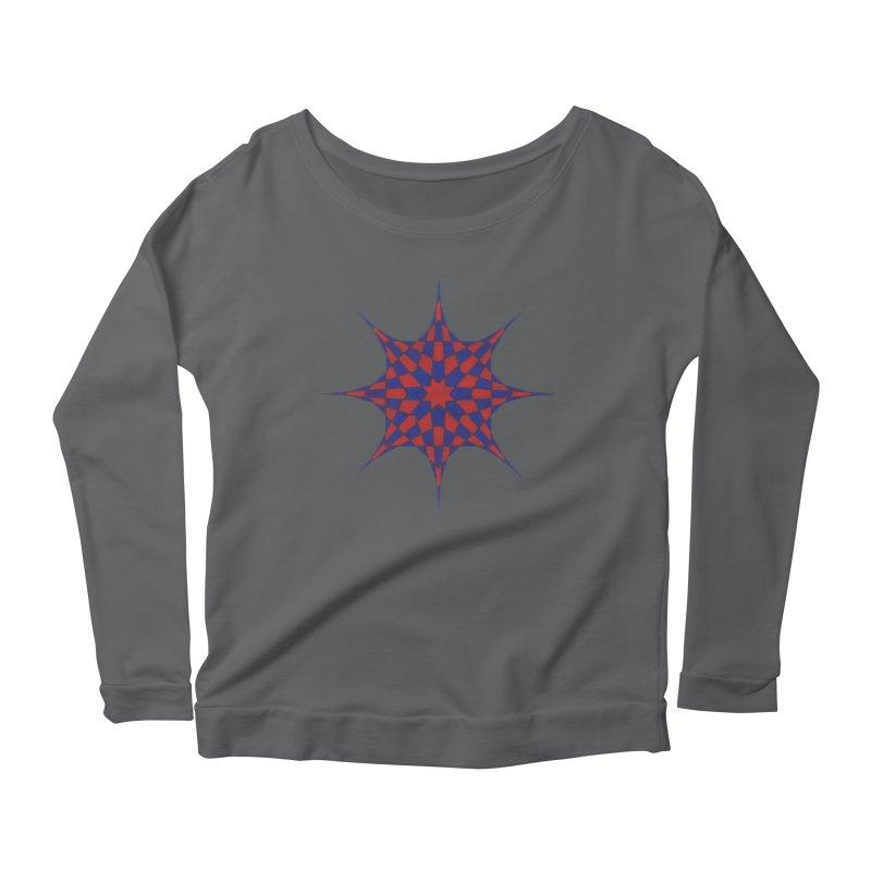 Red Dwarf Star Women's Longsleeve T-Shirt by Damon Davis's Shop