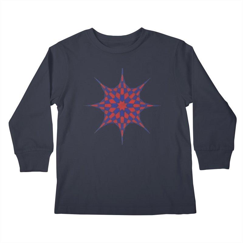 Red Dwarf Star Kids Longsleeve T-Shirt by Damon Davis's Shop