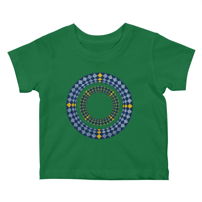 Diamond Encrusted Kids Baby T-Shirt by Damon Davis's Shop