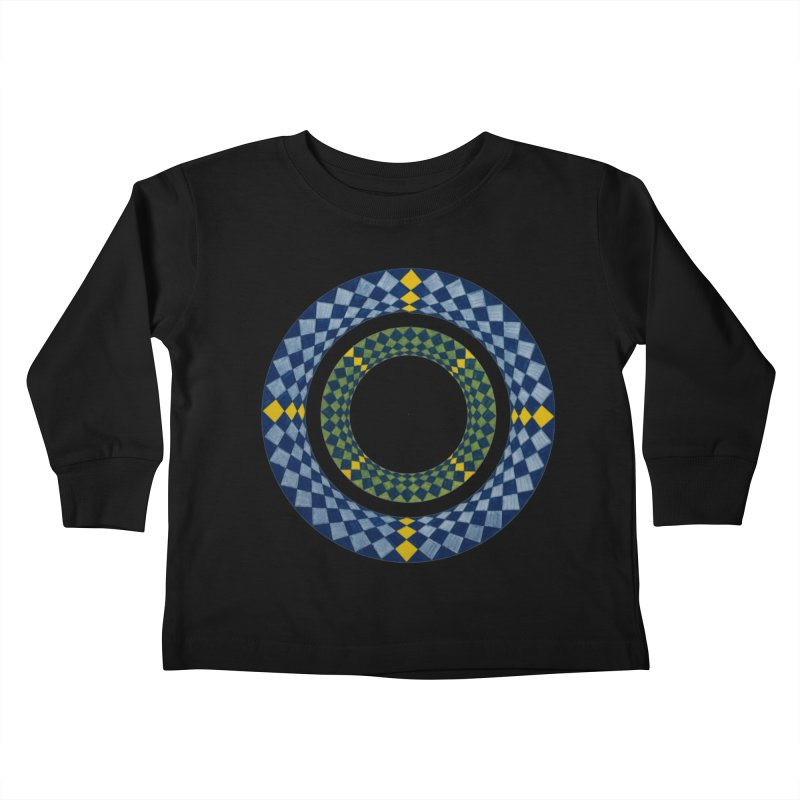 Diamond Encrusted Kids Toddler Longsleeve T-Shirt by Damon Davis's Shop