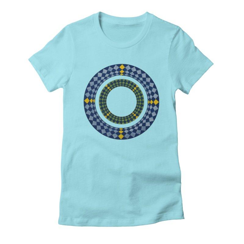 Diamond Encrusted Women's T-Shirt by Damon Davis's Shop